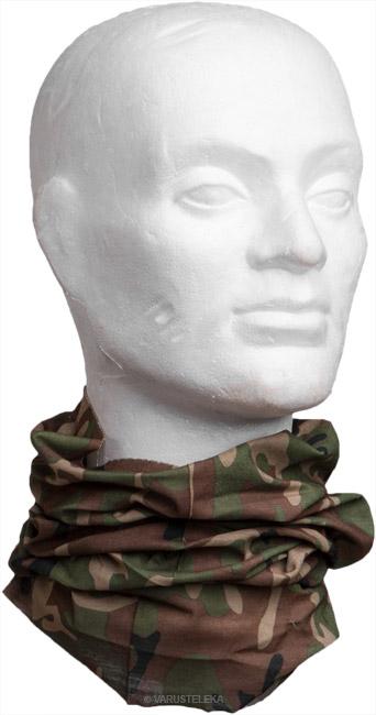 Multi Function Head Wrap, maastokuvioitu