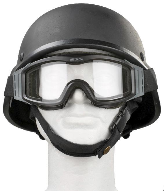 ESS Profile NVG suojalasit, mustat, kahdella linssillä