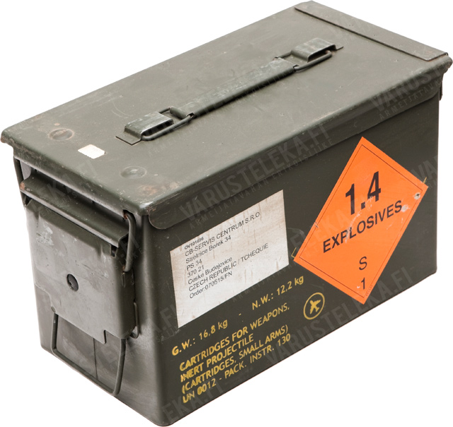 US ammunition box, .50 cal, surplus