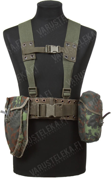 BW webbing set, Flecktarn, surplus