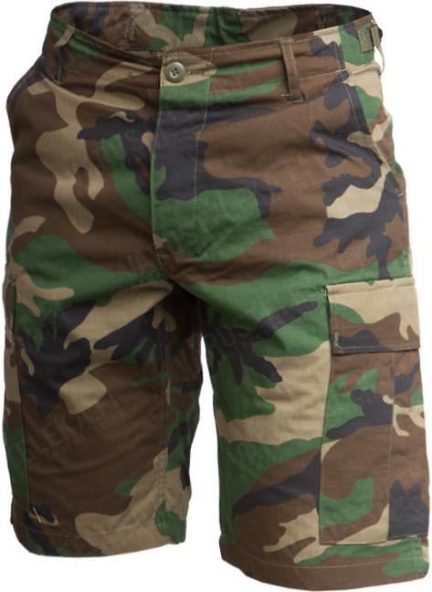 Teesar BDU shorts, Woodland