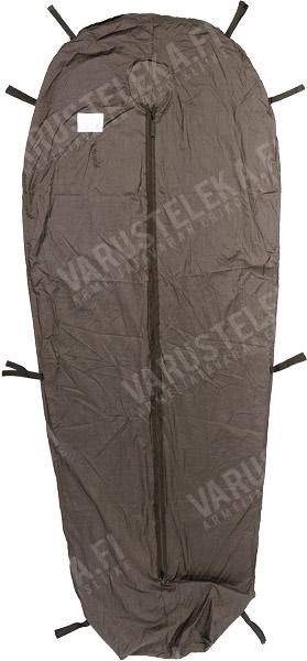 Hollantilainen makuupussin sisäpussi vetoketjusululla, ylijäämä
