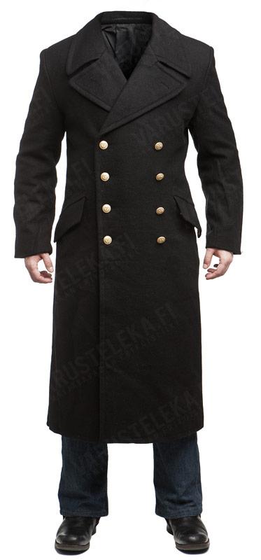 Mil-Tec navy greatcoat, black - Varusteleka.com