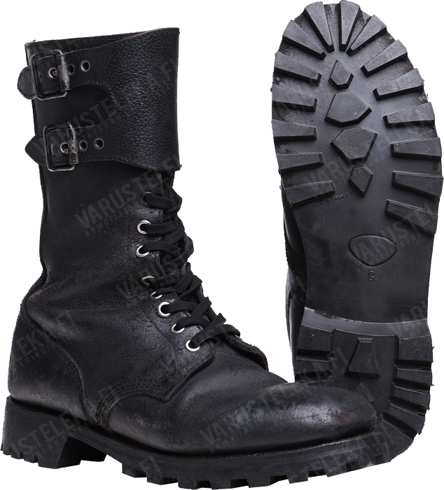 French double buckle boots, surplus - Varusteleka.com