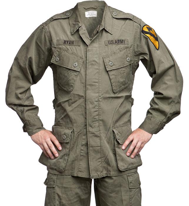 US viidakkopuvun takki, 1st pattern, repro