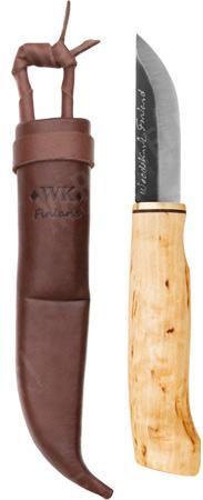Woodsknife Perinnepuukko 77, vaalea
