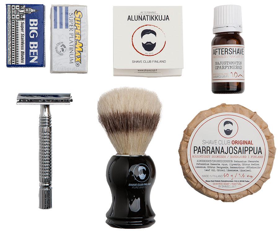 Shave Club Finland starter kit
