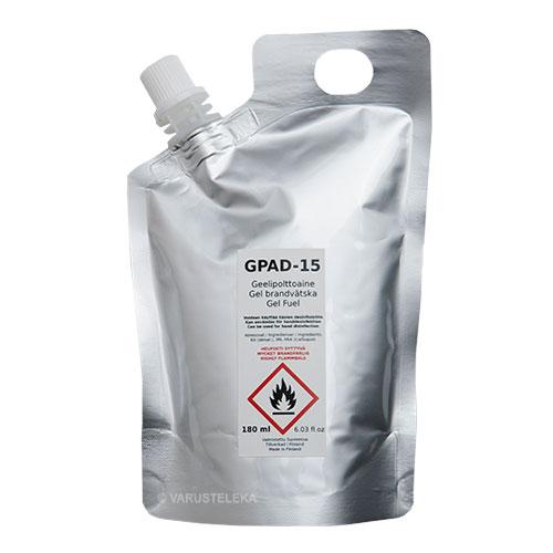 GPAD-15 geelipolttoaine, 180 ml