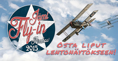 Jämi Fly In & Airshow 2015