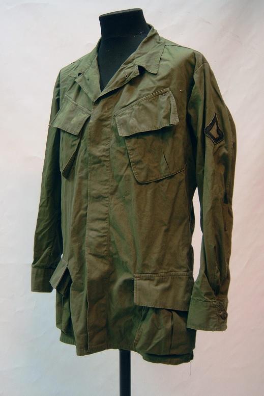 US 3rd Pattern viidakkotakki, popliinia, Medium Regular