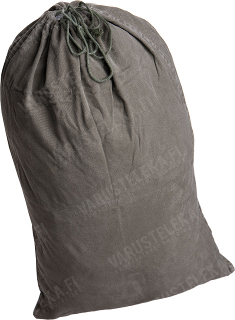 BW pyykkipussi, harmaanvihreä, ylijäämä