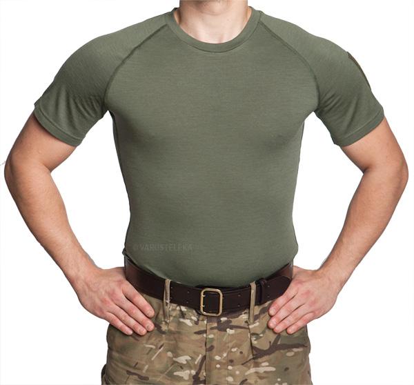 Särmä TST L1 T-paita, merinovillaa, vihreä, vanha malli