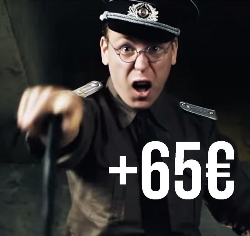 Yrityskurssit: 65 euron lisämaksu (yli 5M yritys)