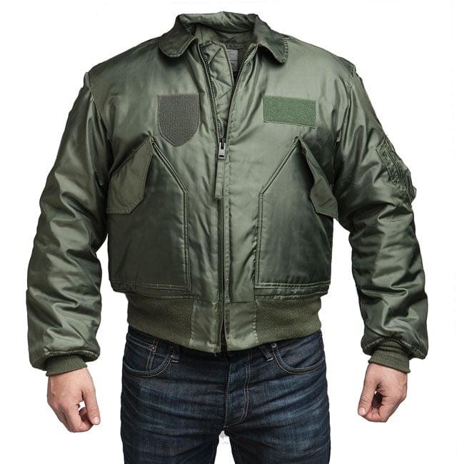 US CWU-45P lentäjän takki, talvimalli, ylijäämä