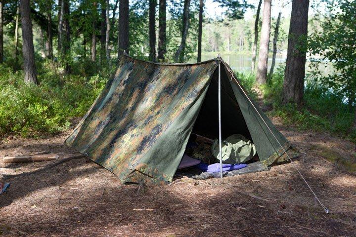 BW taistelijaparin teltta