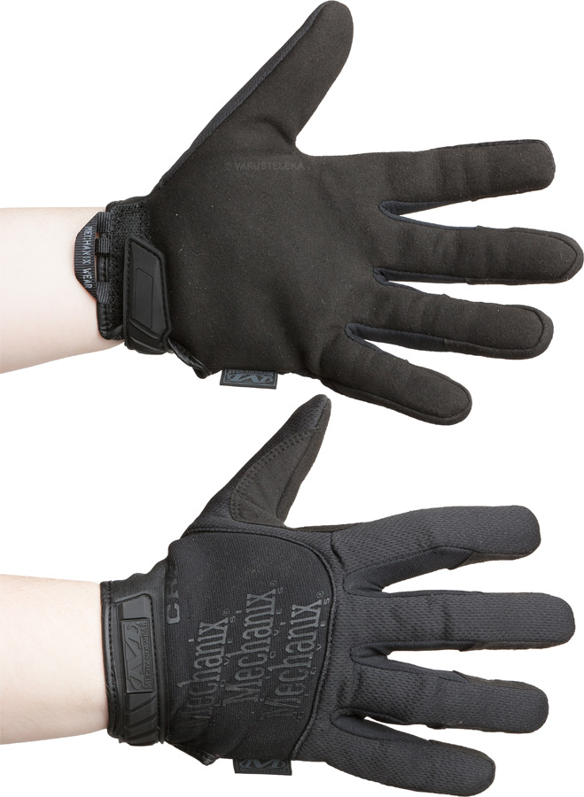 Mechanix Pursuit Gloves CR5 viiltosuojahanskat, mustat