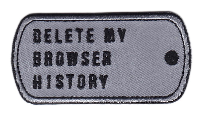 how to delete a website from my browser