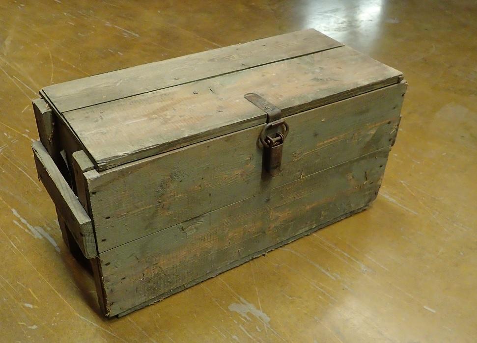 SA liekinheittimen laatikko, ylijäämä