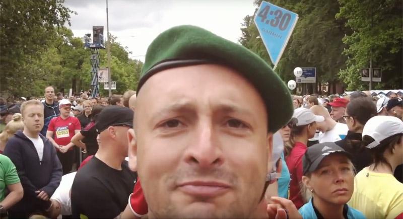 Aku laitinen: Tukholman maraton 2011 juoksukenkinä Haix Airpower P3