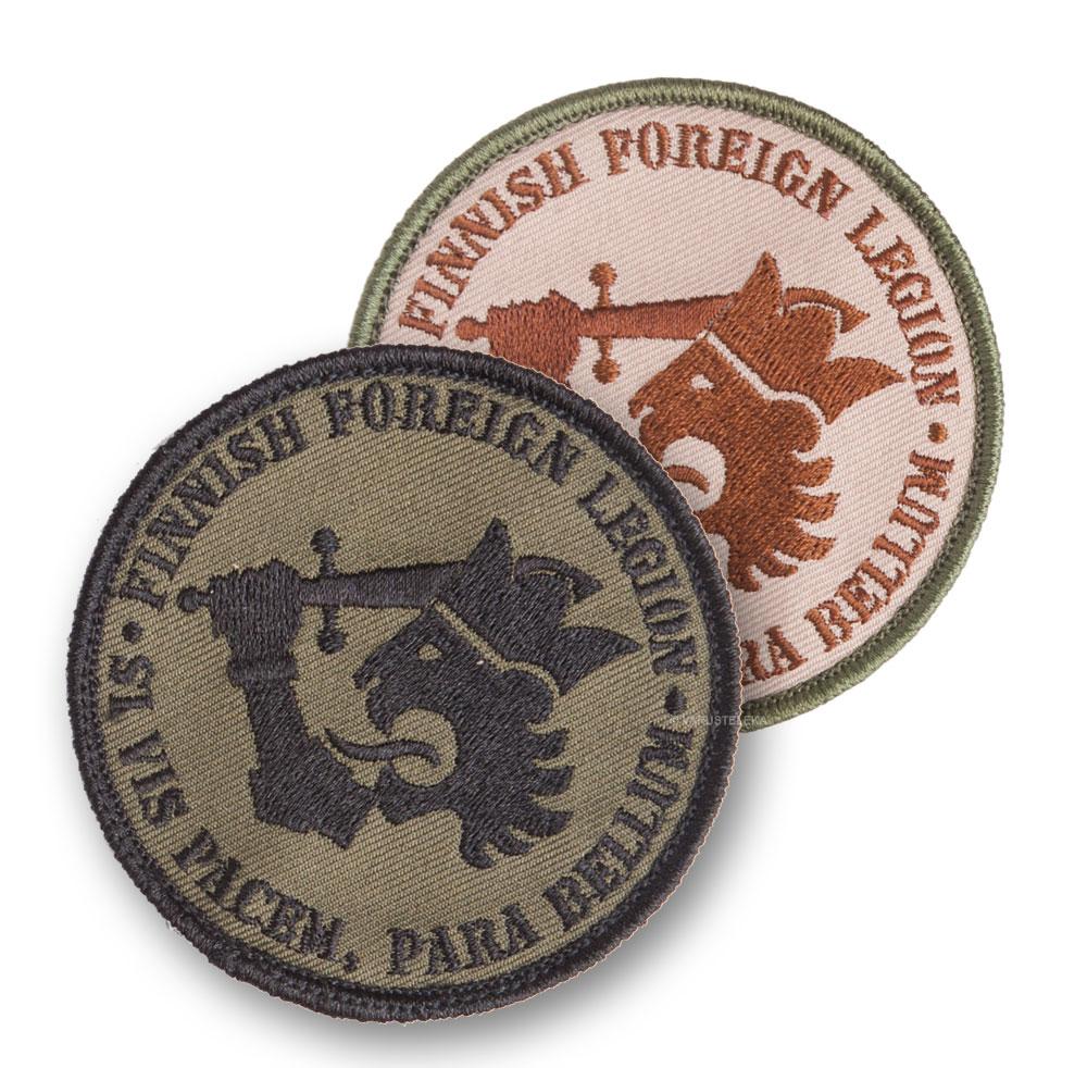 Kaaos Gear Finnish Foreign Legion velcromerkki