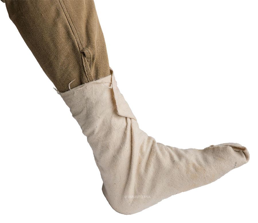 Czechoslovakian foot wrap, surplus