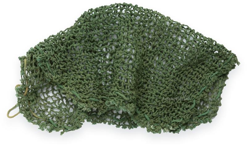 Belgian helmet camouflage net, surplus