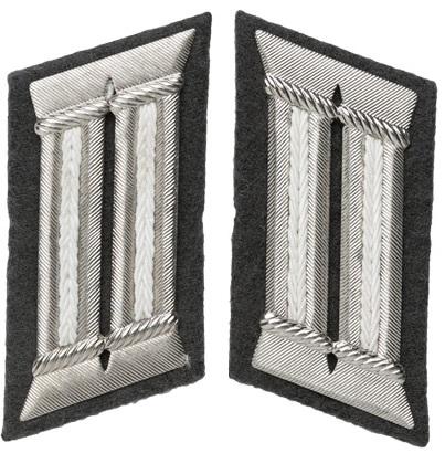 NVA upseerin kauluslaatat, jalkaväki, ylijäämä