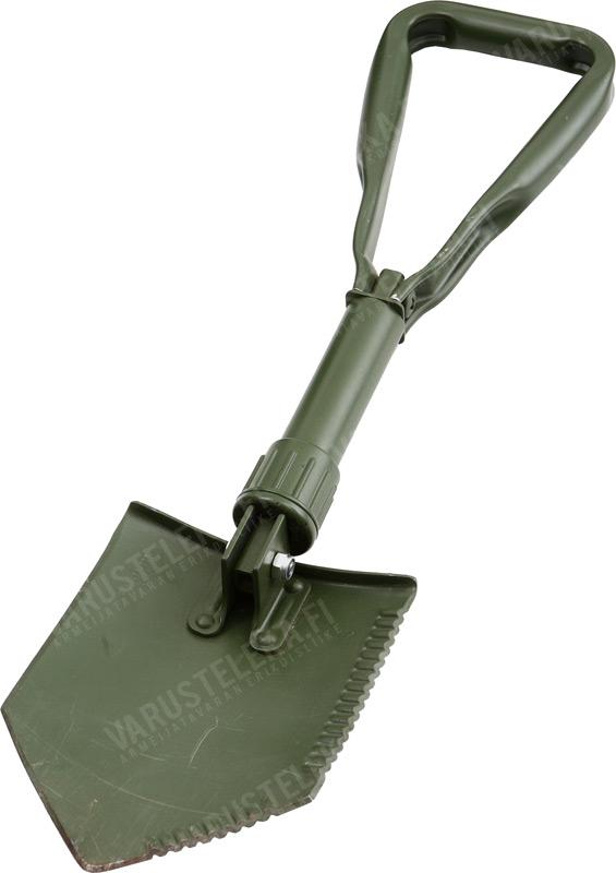 BW kolmitaitteinen kenttälapio taskulla, ylijäämä