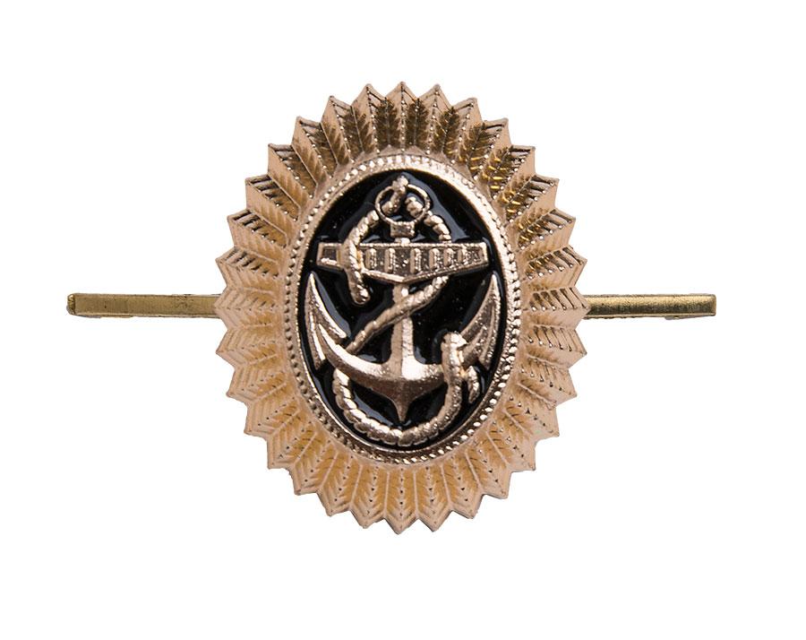 CCCP laivastokokardi, metallia, ylijäämä