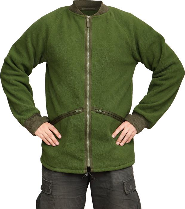 Brittiläinen Soldier 95 fleece-vuoritakki, oliivinvihreä, ylijäämä