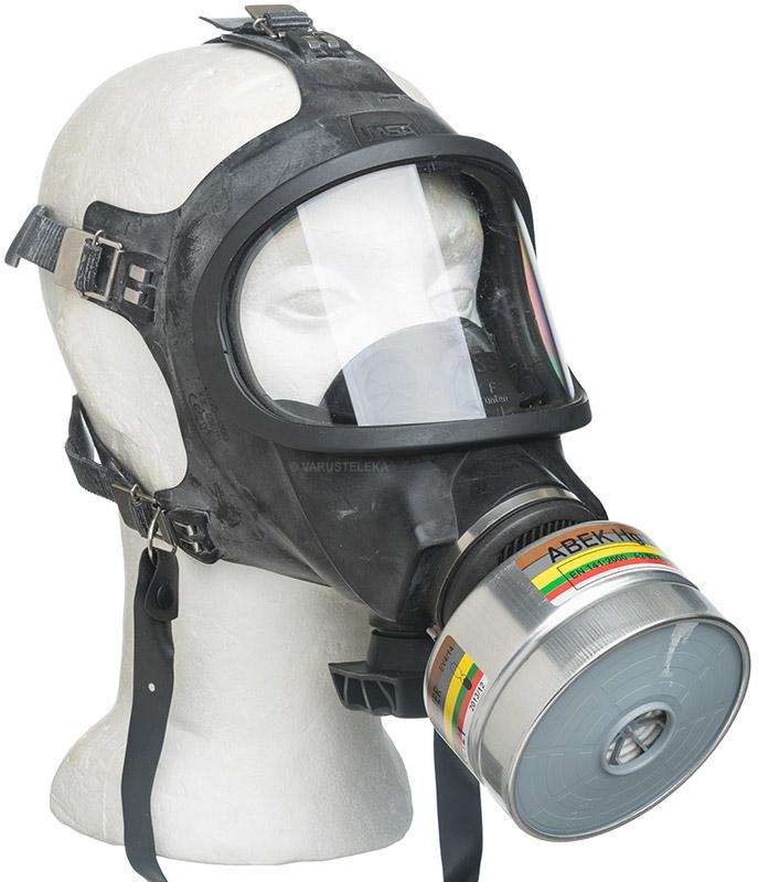 MSA Auer 3S kaasunaamari, ylijäämä