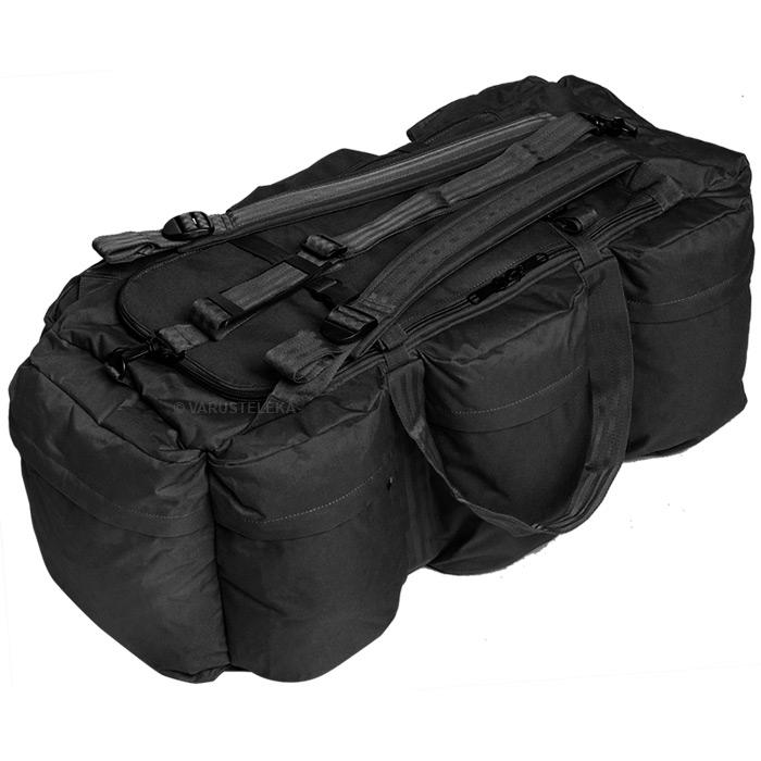 Mil-Tec keikkalaukku 98 l, musta