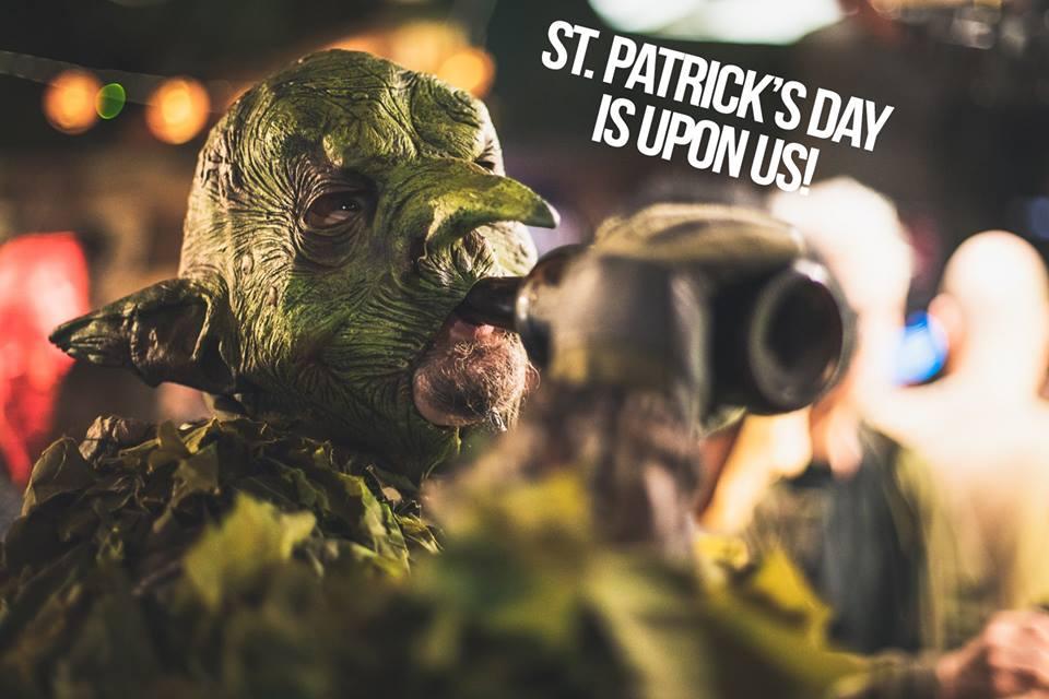 Sotiman st. Patrick's day kinkeriäiset 16.3.