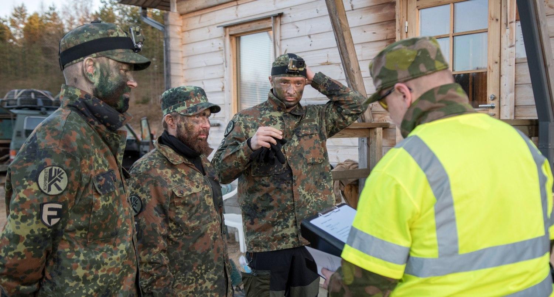 Etelä-Karjalan Sotilasmarssi 2018 - Team Korpimiehet