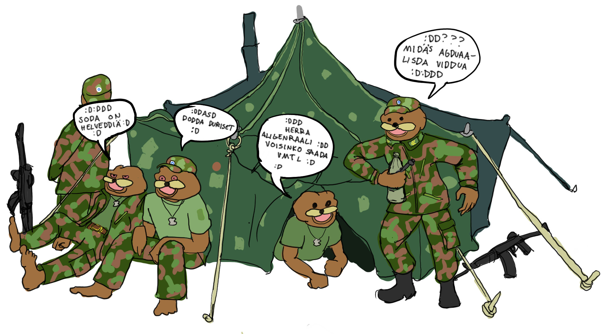 Army tales: Offshore March and Shelter exercise
