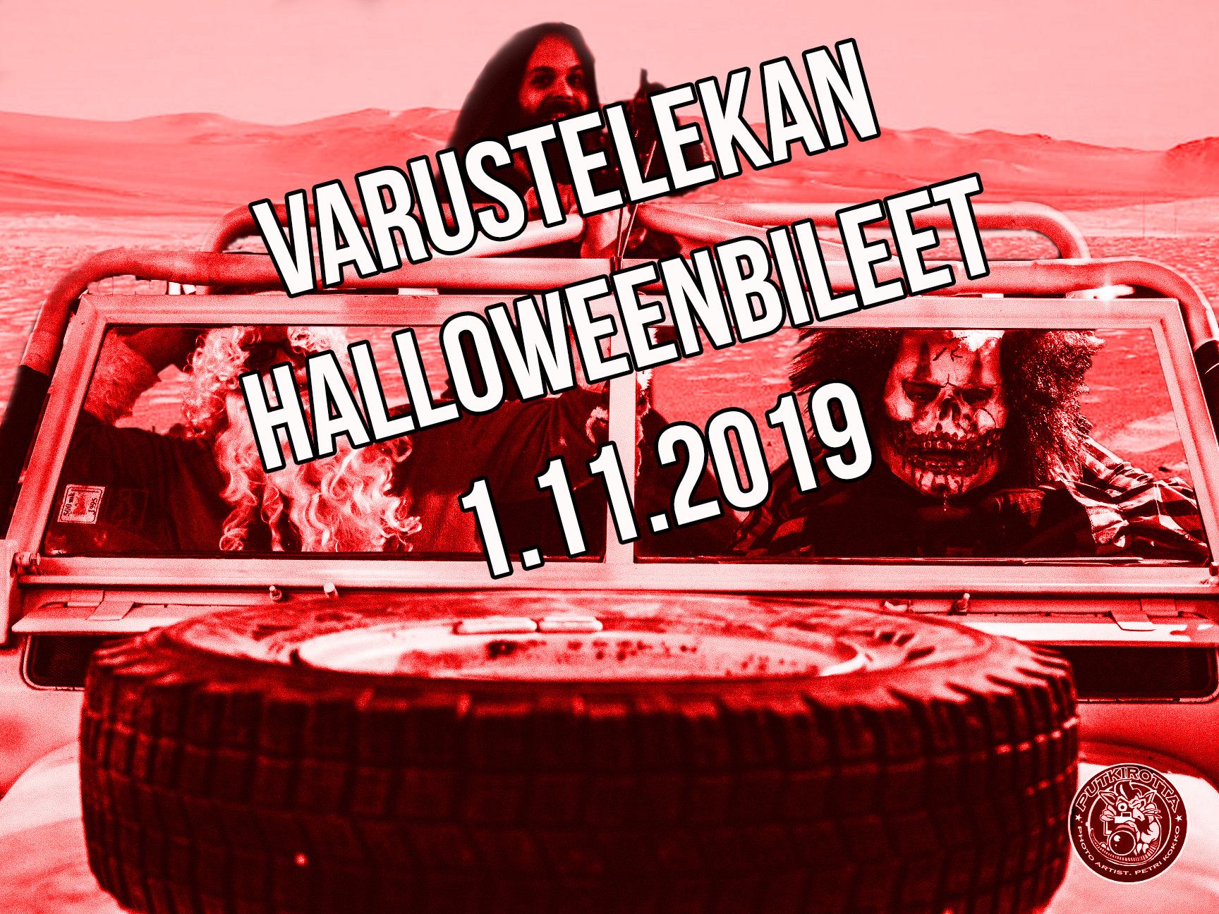 Varustelekan Halloween 01.11.2019