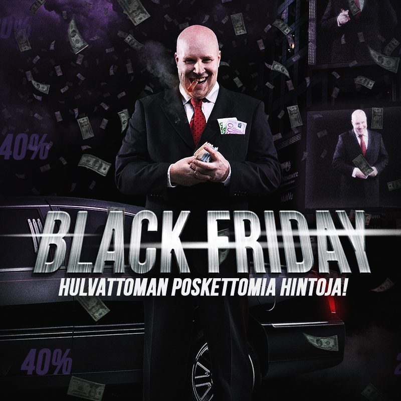 Varustelekan Black Friday