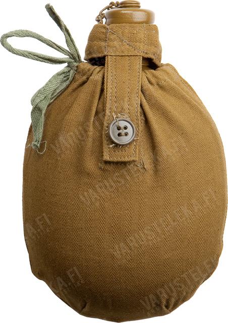 CCCP kenttäpullo taskulla, ylijäämä
