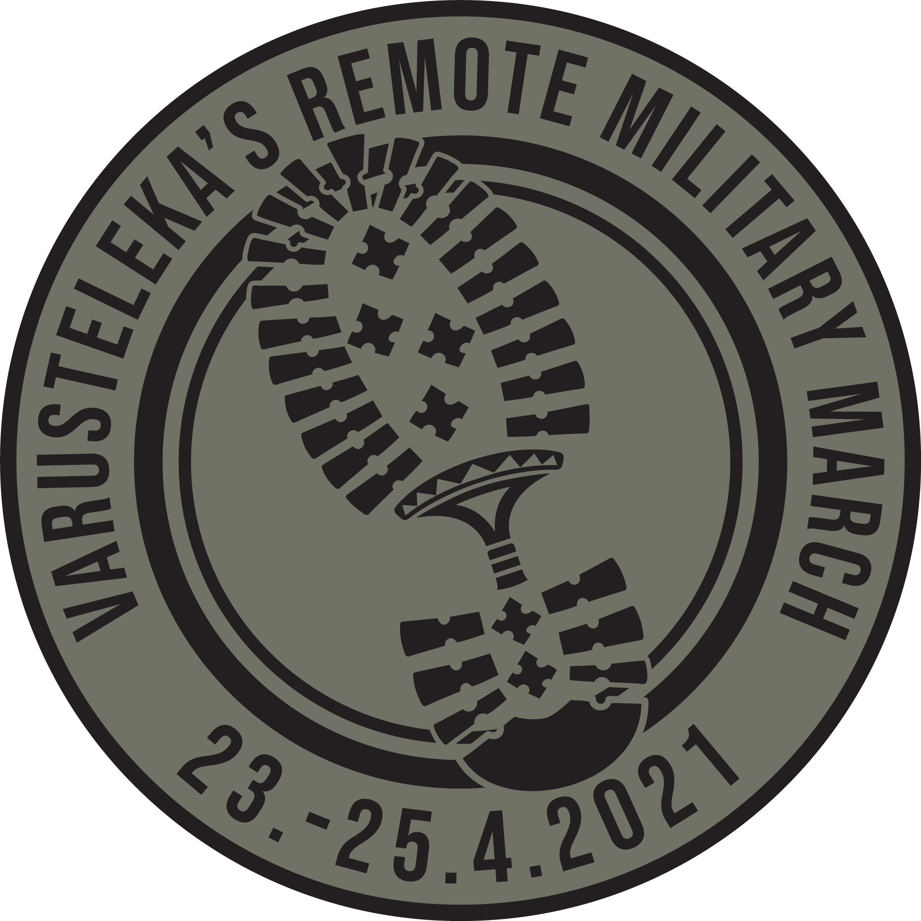 Varusteleka's Remote Military March patch