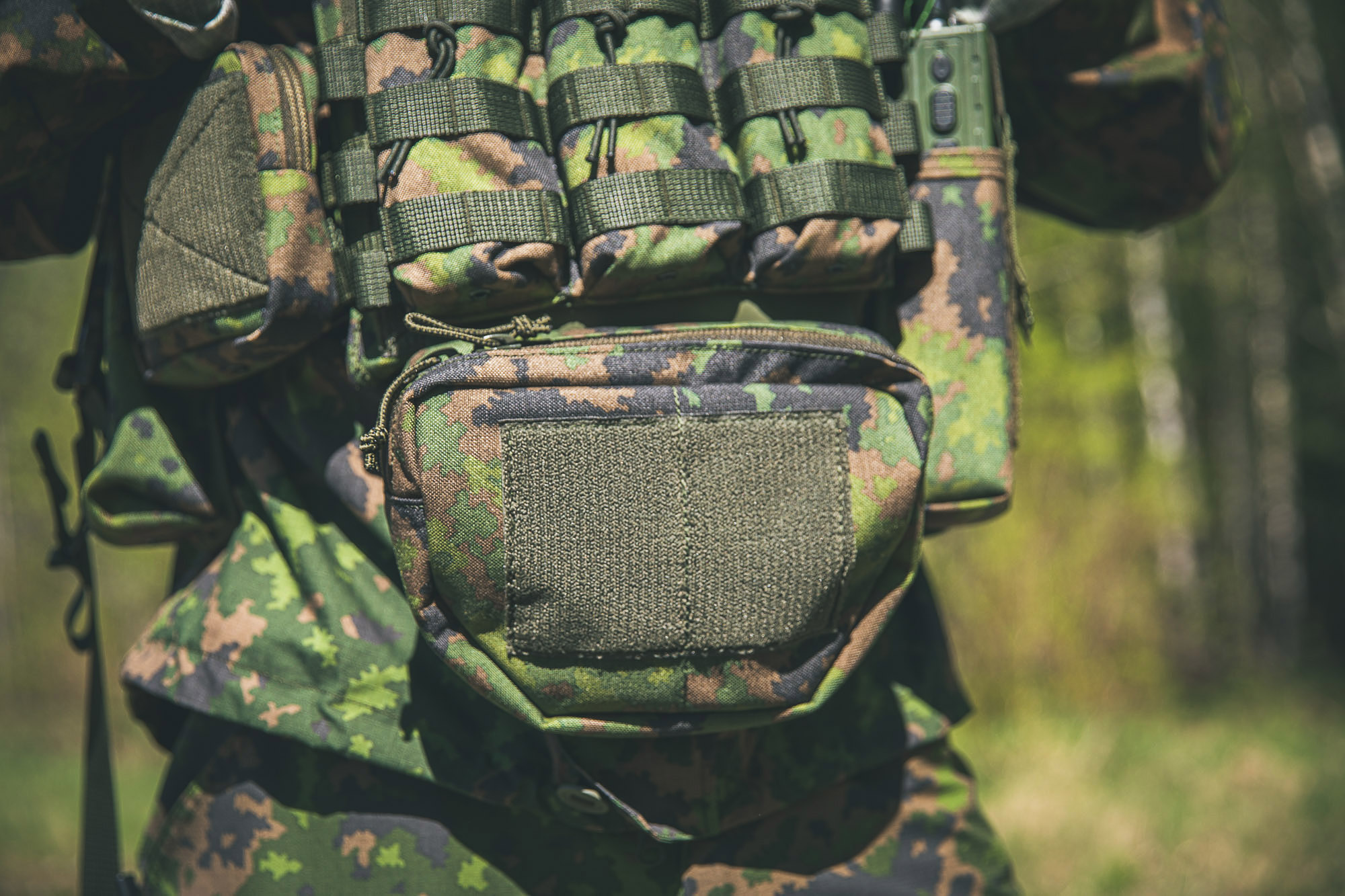 Plate Carrier and Hanger Pouch