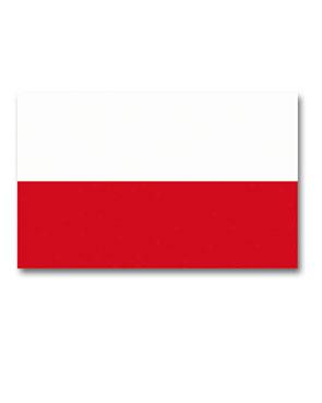 Puolan lippu, 150 x 90 cm