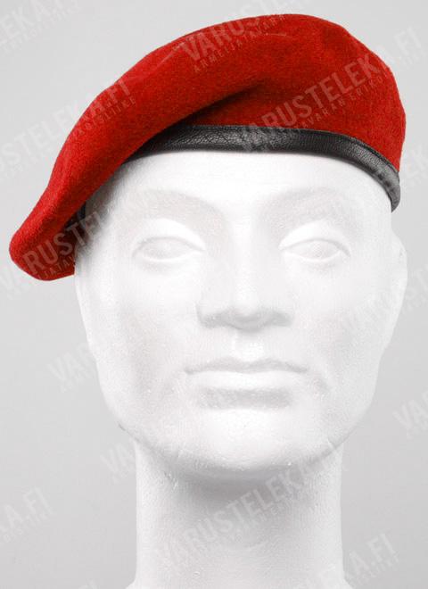 BW baretti, punainen, ylijäämä