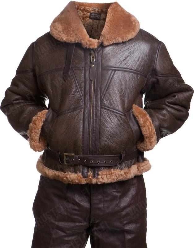 British RAF jacket, sheepskin, repro - Varusteleka.com