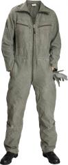 BW mechanic's coverall, olive drab, surplus