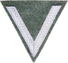 Wehrmacht arvomerkki hihaan, Gefreiter, Feldgrau, repro