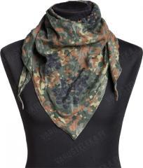 BW triangular scarf, Flecktarn, surplus