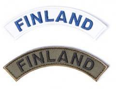 Särmä FINLAND kaarimerkki, velcro