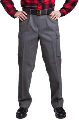 Finnish M65 wool trousers, gray, surplus