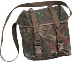 BW general purpose bag w/ shoulder strap, Flecktarn, surplus