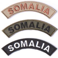 Särmä SOMALIA kaarimerkki, velcro